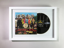 "The Beatles- Sgt. pepper's lonely hearts club band Framed 12"" Vinyl"