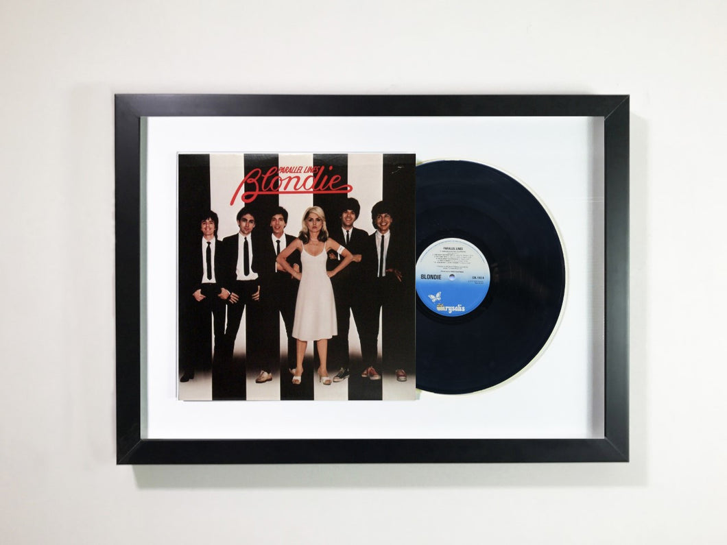 Blondie - Parallel Lines Framed 12