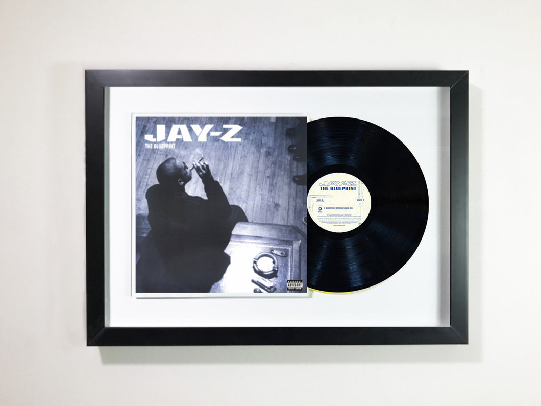 Jay Z The Blueprint Framed 12 Vinyl Galerie Vinyl