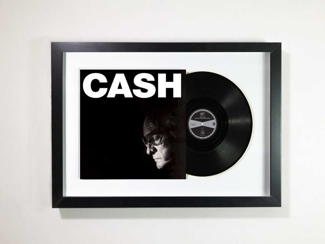 Johnny Cash -American IV: The Man Comes Around Framed 12
