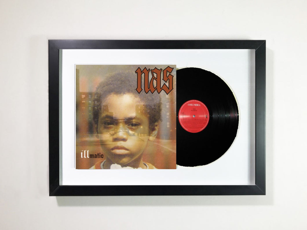 Nas - Illmatic Framed 12