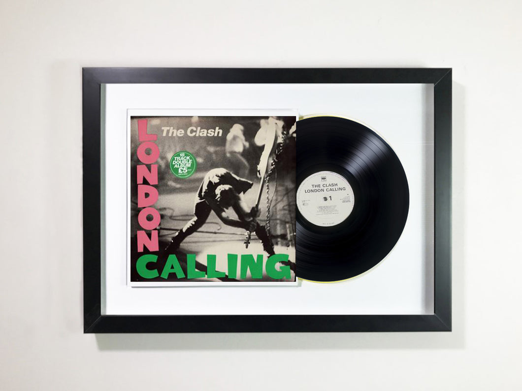 The Clash- London Calling Framed 12