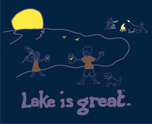 Lake is Great Firefly T-Shirt