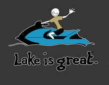 Lake is Great - Jet Ski T-Shirt