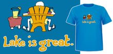 Lake is Great - Adirondack Chair T-Shirt - PRE-ORDER