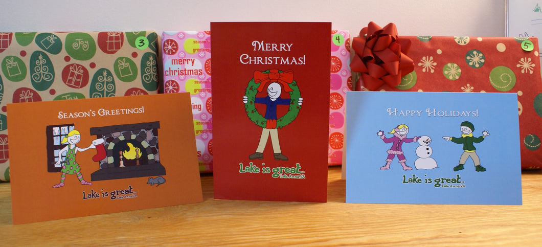 Lake is Great - Lake Anna Christmas Cards Boxed Set