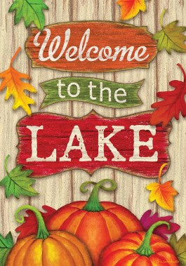 Welcome to the Lake Fall Flag
