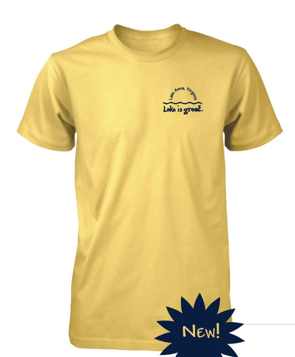 Lake is Great Horizon T-Shirt