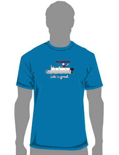 Lake is Great - Pontoon T-Shirt