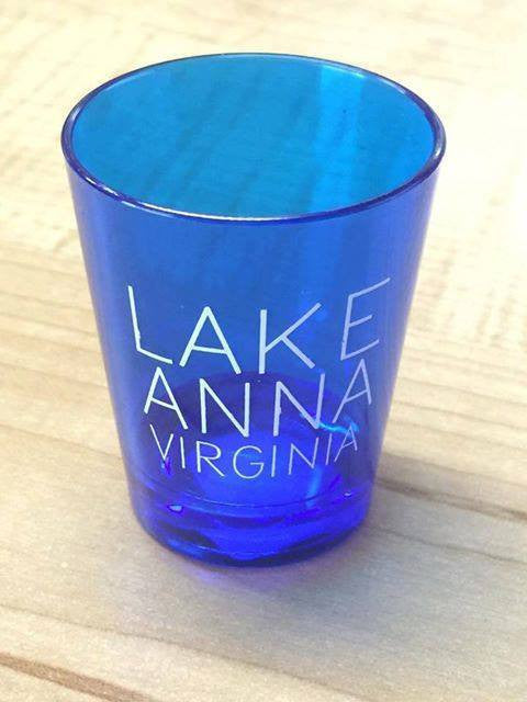 Lake Anna Shot Glass