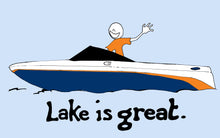 Lake is Great - Boat T-Shirt - PRE-ORDER