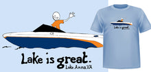 Lake is Great Lake Anna - Speedboat Tee - PRE-ORDER