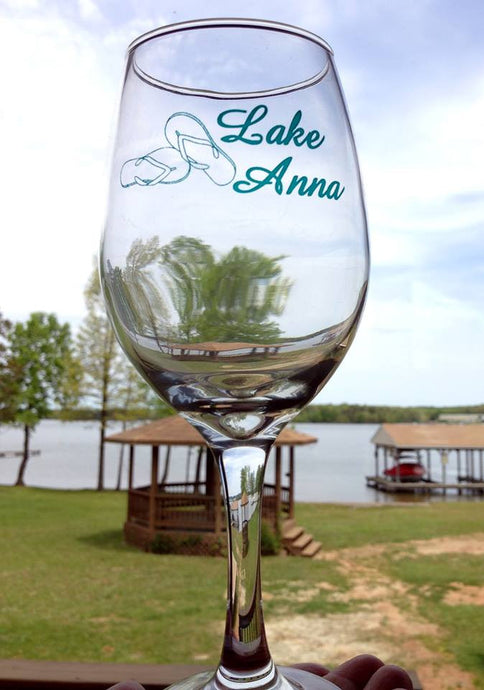 Lake Anna Wine Glass (set of 4)