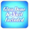 Glass Dome & Nail Icon