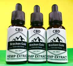 The 710 Source | Brecken Gold Hemp CBD Oil Tincture - Group