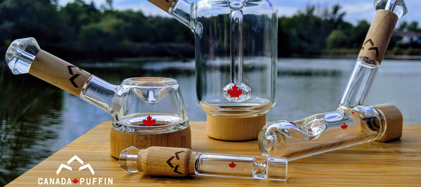 Canada Puffin Glass Pipes