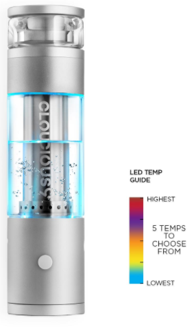 The 710 Source | Cloudious9 Hydrology 9 Vaporizer Kit | LED Temperature Guide