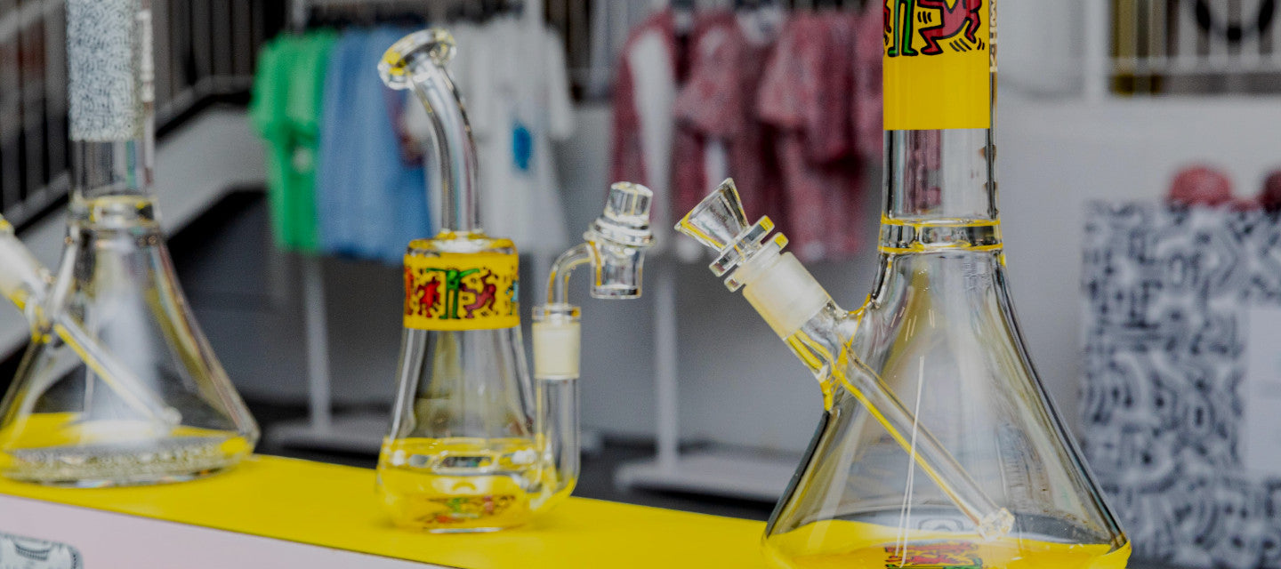 K.Haring Glass Collection Bongs Dab Rigs
