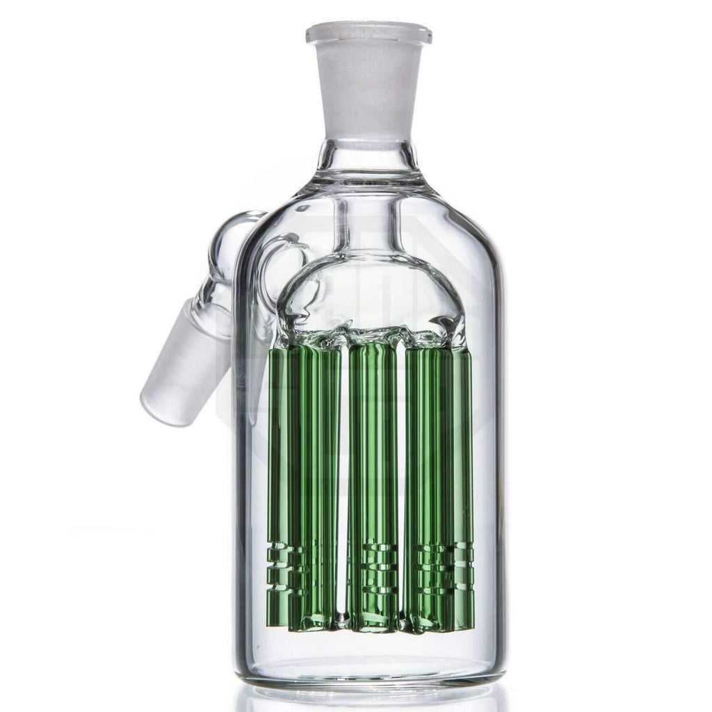Tree Perc Glass Ash Catcher 14mm Joint - Green | The710Source.com