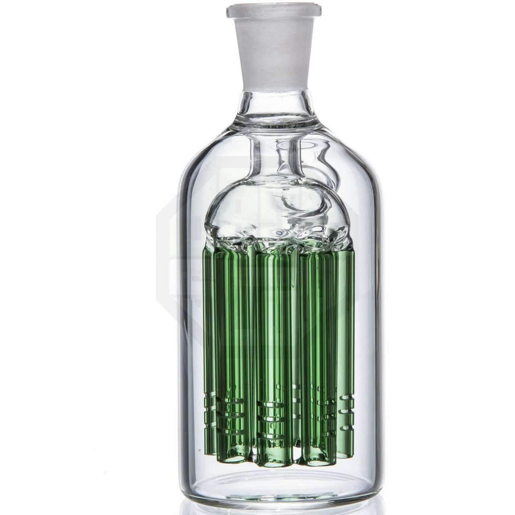 Glass Ash Catcher - Green 8 Arm Tree Perc | The710Source.com