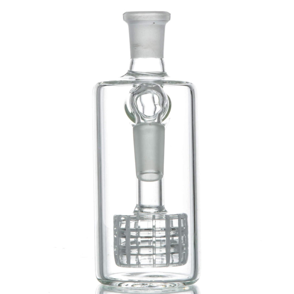 Clear Glass Ash Catcher - 45˚ Joint | The710Source.com