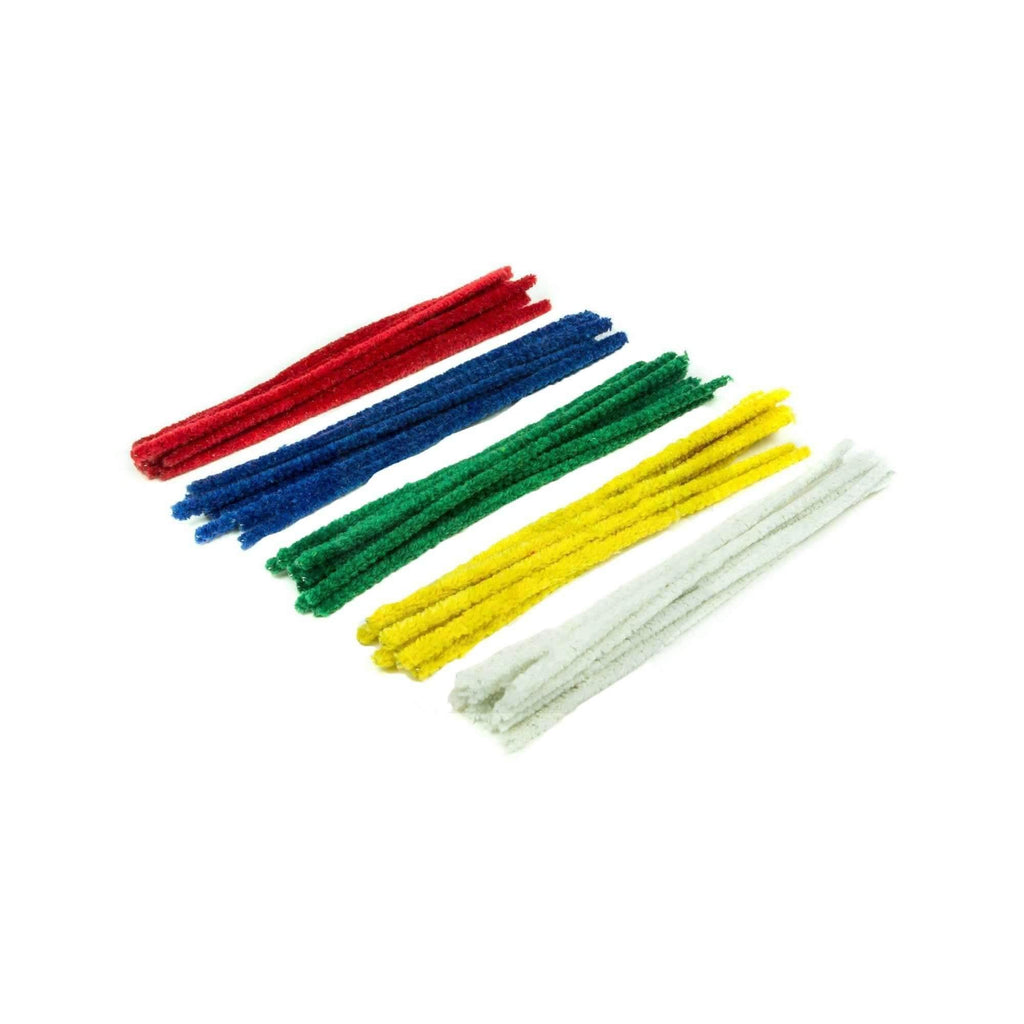 50 Pack of Pipe Cleaners - Assorted Colors | The710Source.com
