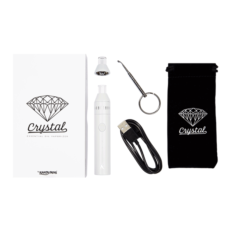 KandyPens Crystal Vaporizer Kit - White | The710Source.com