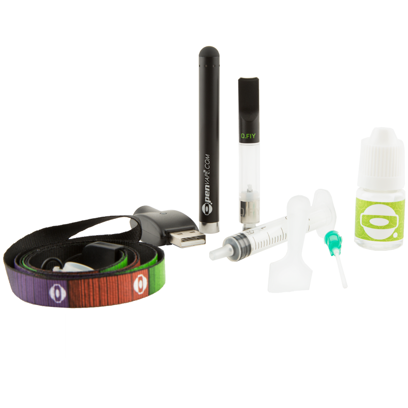 O.penVAPE FIY Kit Contents | The710Source.com