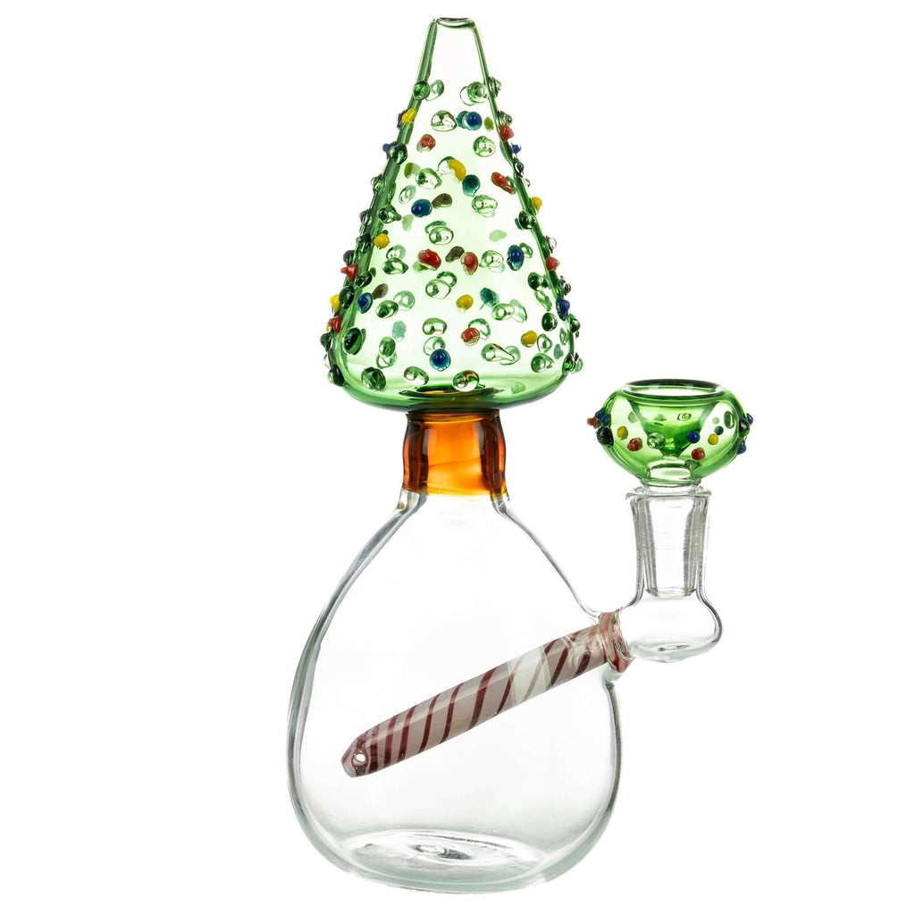 Christmas Tree Themed Bong | The710Source.com
