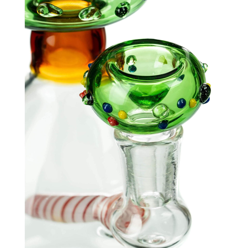 Christmas Tree Themed Bong - Glass Bowl Included | The710Source.com