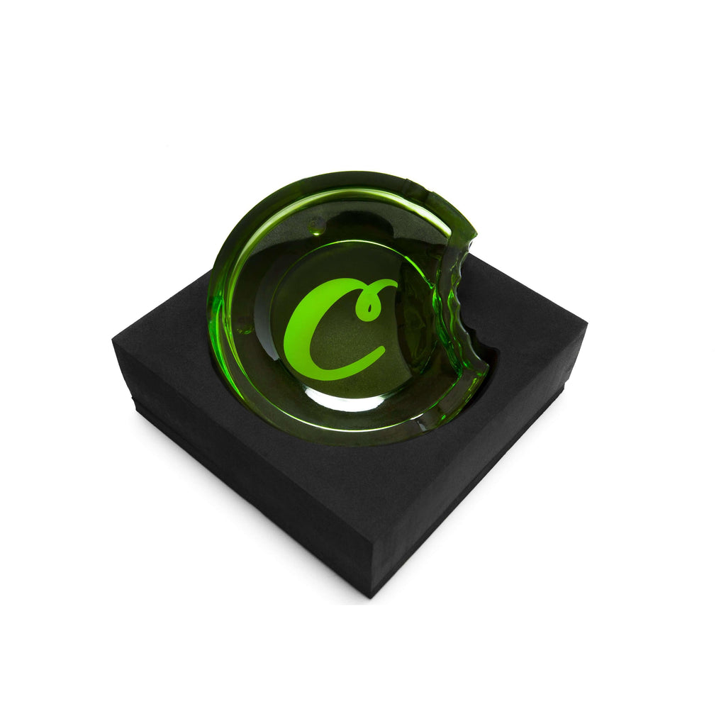 Cookies SF Glass Ashtray - Green | The710Source.com