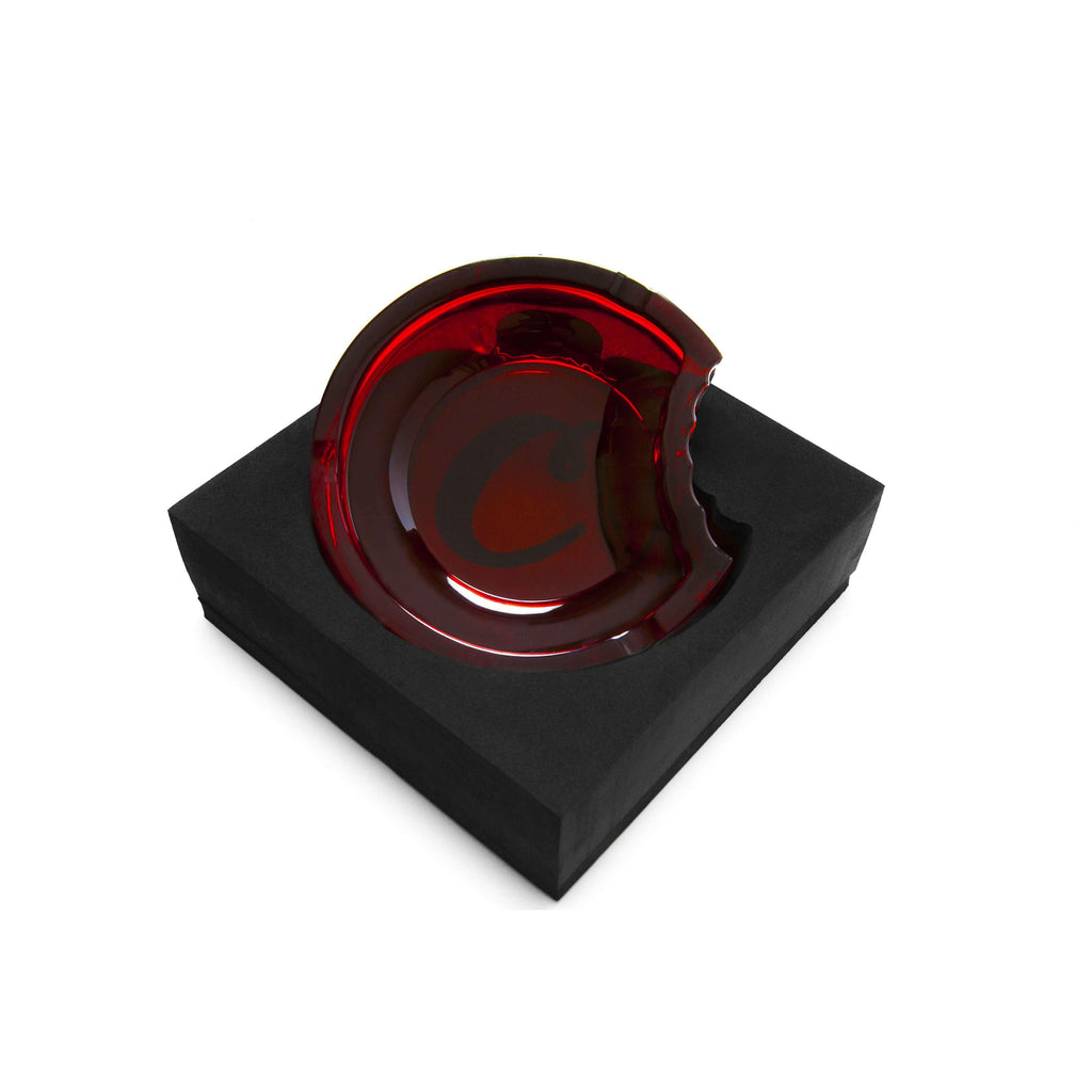 Cookies SF Glass Ashtray - Red | The710Source.com