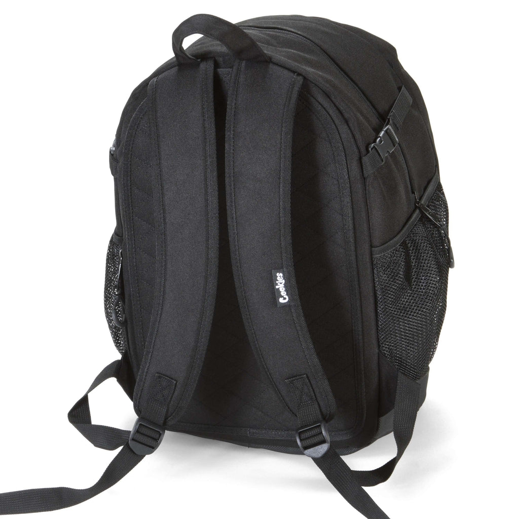 Cookies SF Bungee Smell Proof Backpack - Black | The710Source.com