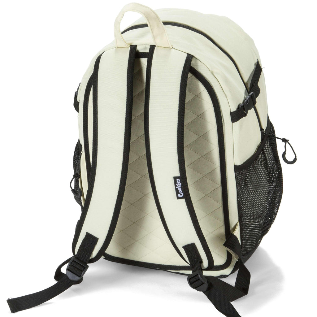 Cookies SF Bungee Smell Proof Backpack - Cream | The710Source.com