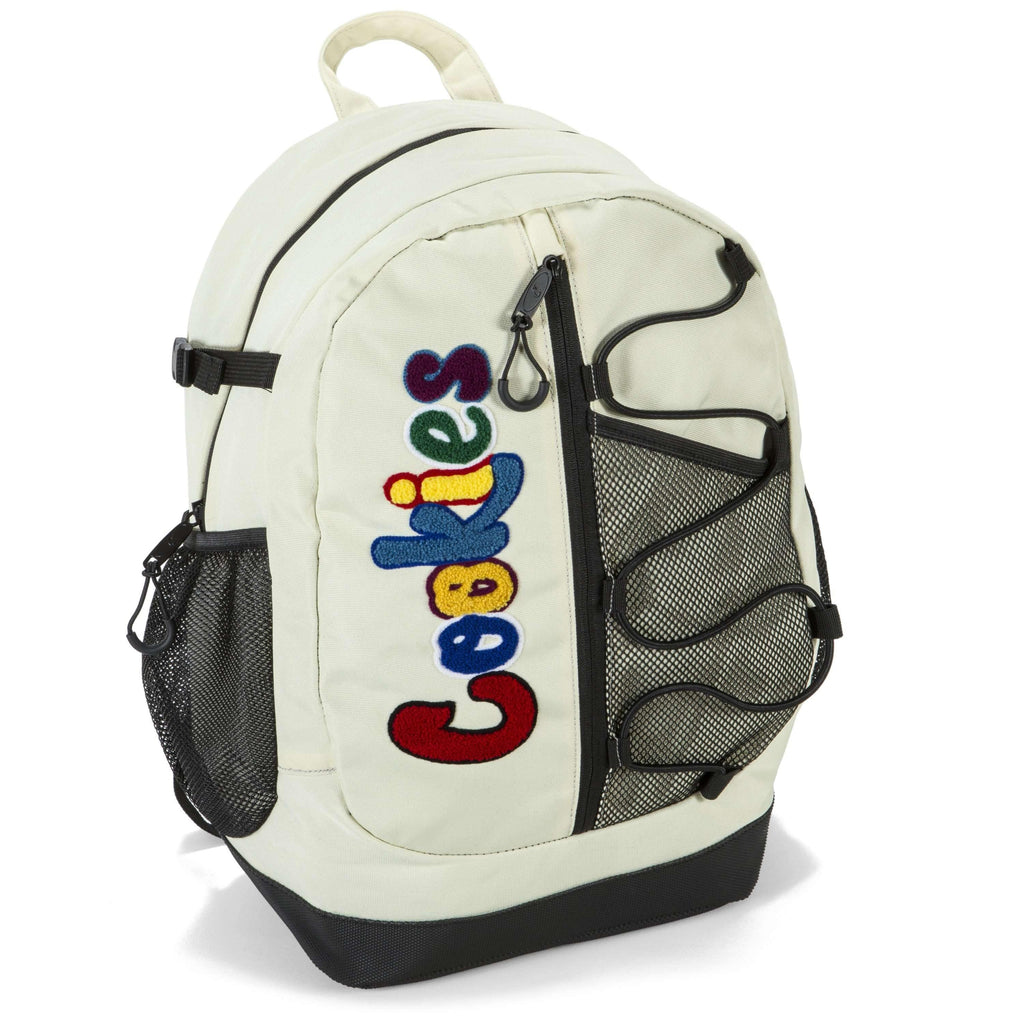 Cookies SF Bungee Backpack - Cream | The710Source.com