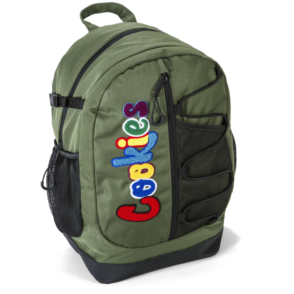 Cookies SF Bungee Backpack - Olive | The710Source.com