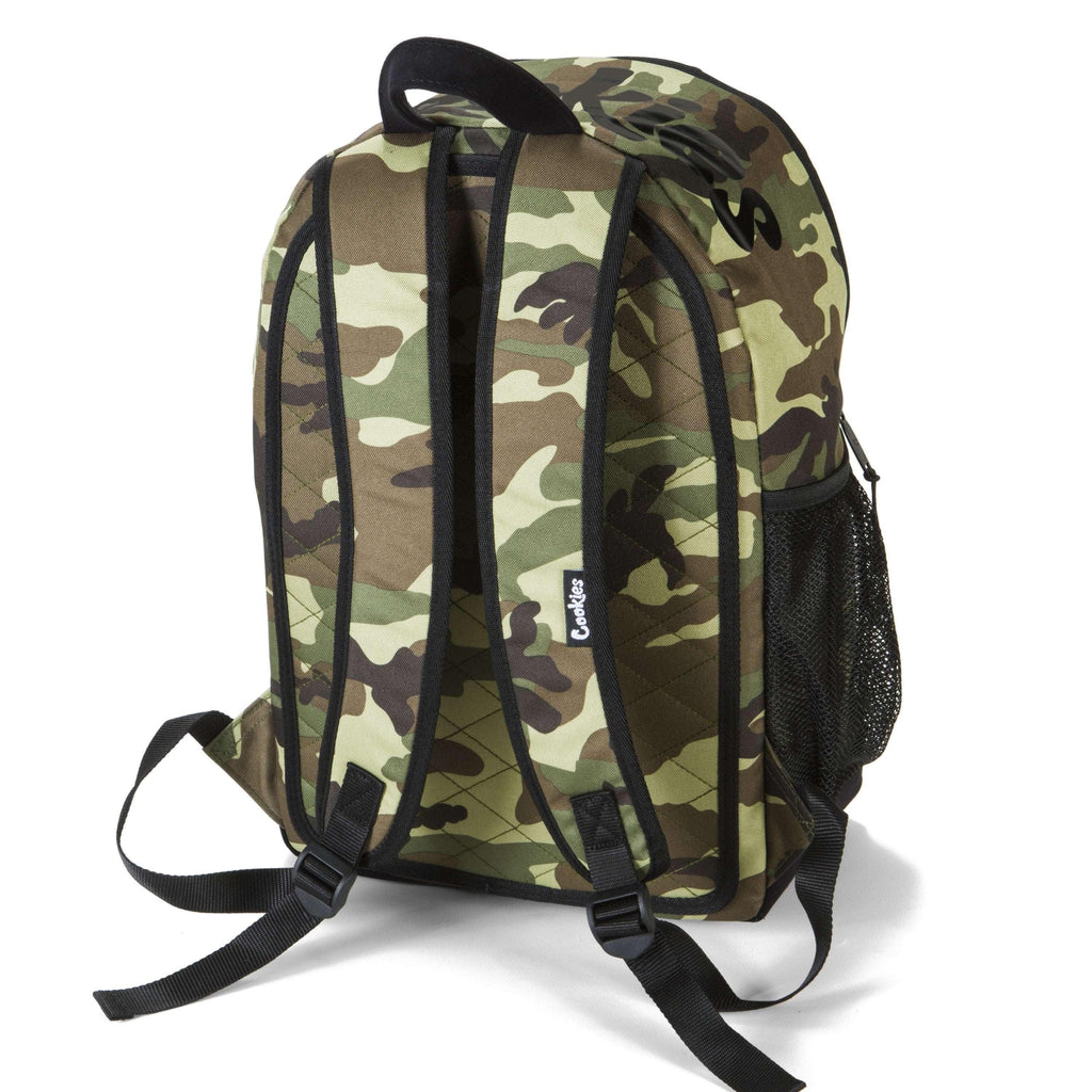 Cookies SF Commuter Smell Proof Backpack - Camo | The710Source.com