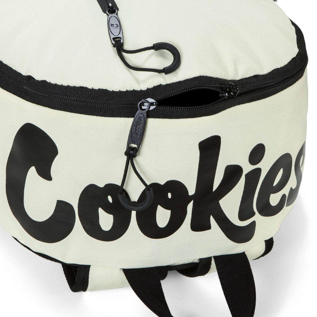 Cookies SF Commuter Backpack Top - Cream | The710Source.com