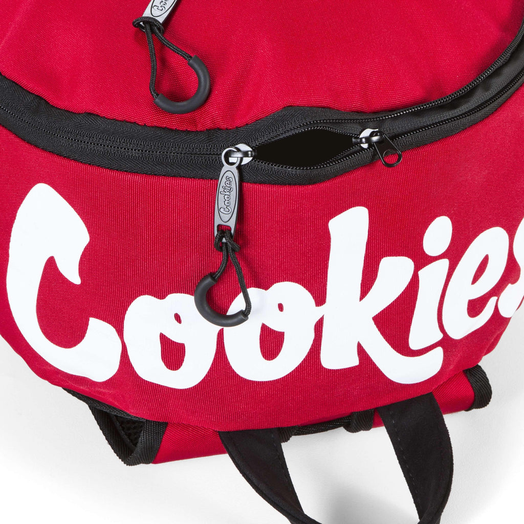 Cookies SF Commuter Backpack Top - Red | The710Source.com