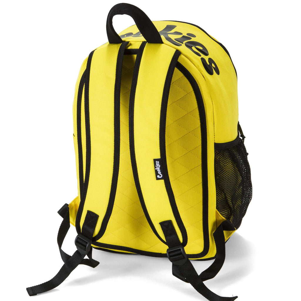 Cookies SF Commuter Smell Proof Backpack - Yellow | The710Source.com