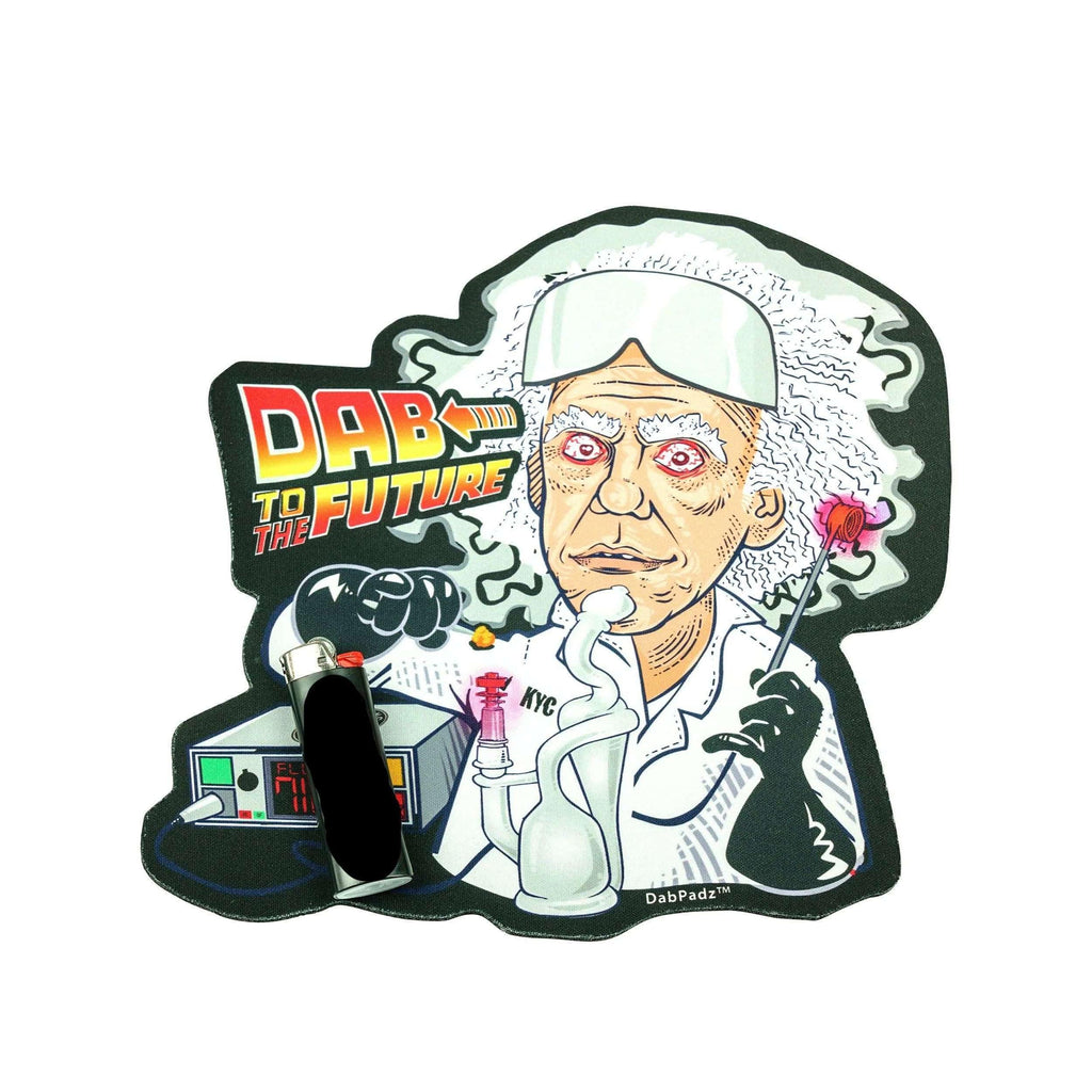 DabPadz Dab To The Future Mat | The710Source.com