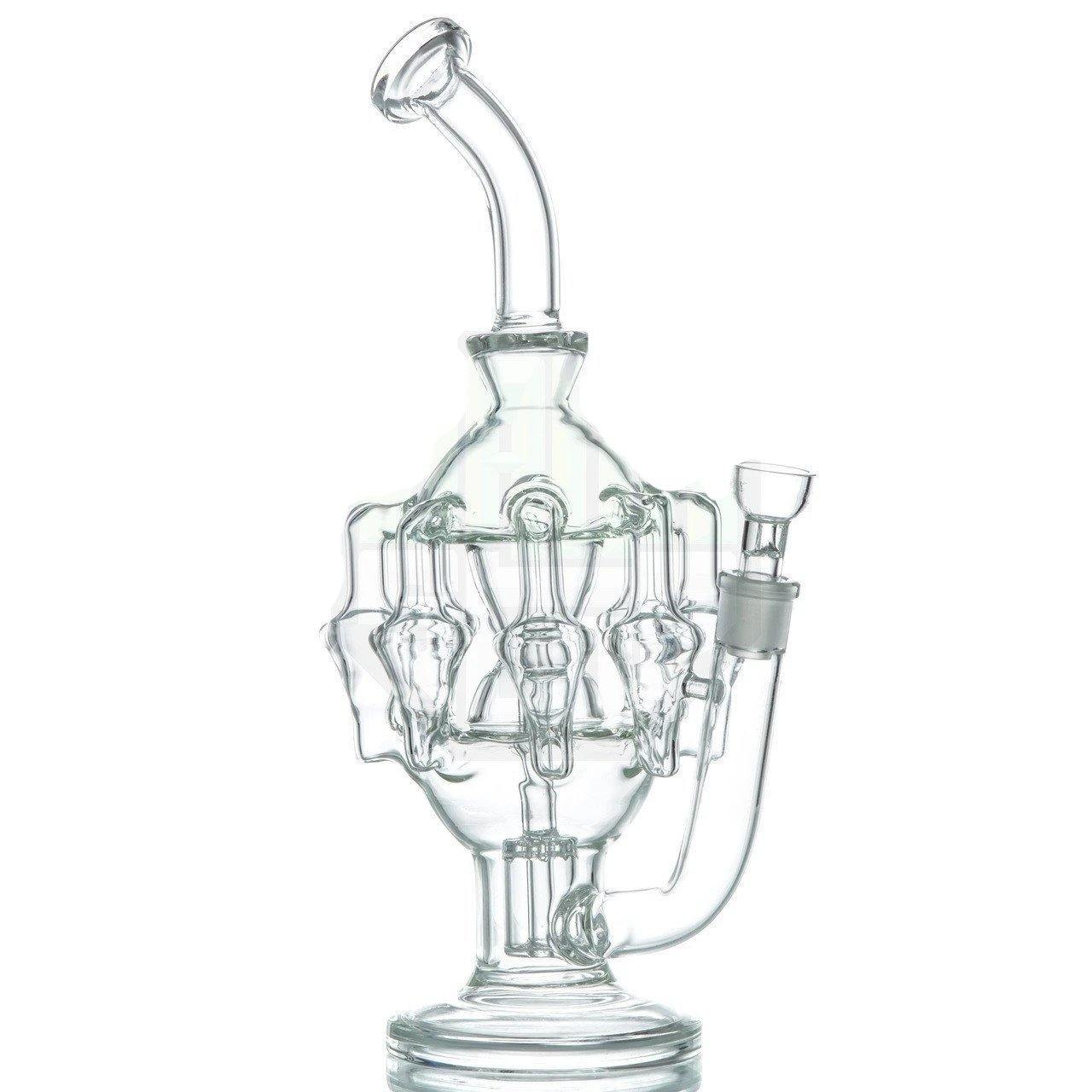 Eight-Arm Chandelier Recycler Bong | The710Source.com