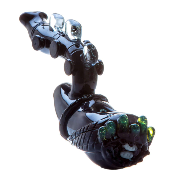 Empire Glassworks Alien Themed Hand Pipe with Slyme Accents | The710Source.com