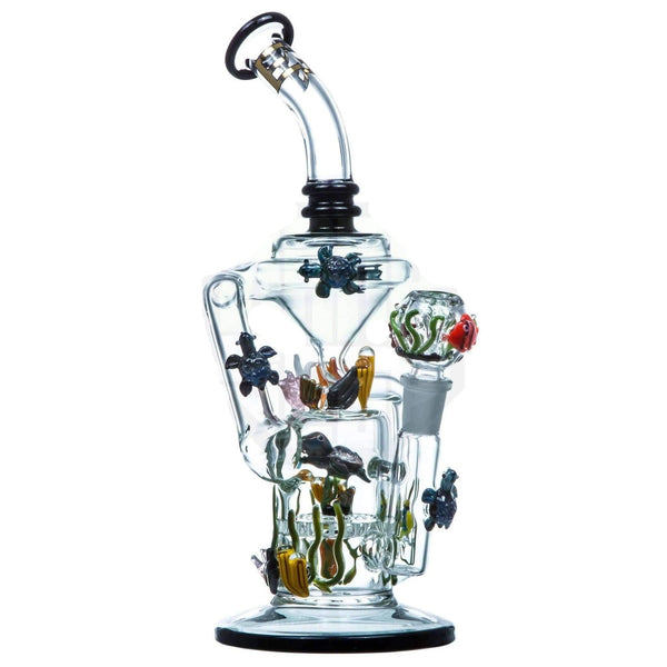 Empire Glassworks California Current Recycler Bong | The710Source.com