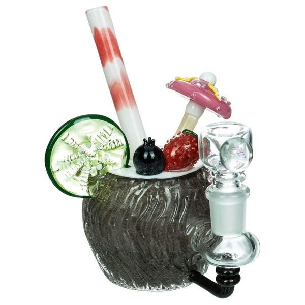 Empire Glassworks Coconut Colada Mini Bong | The710Source.com