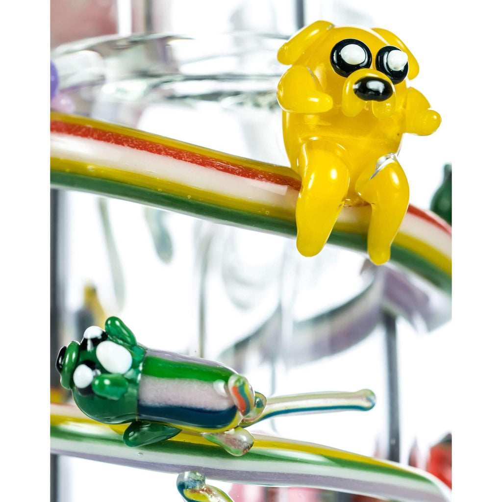 Empire Glassworks Land of Ooo Mini Bong - Jake The Dog | The710Source.com