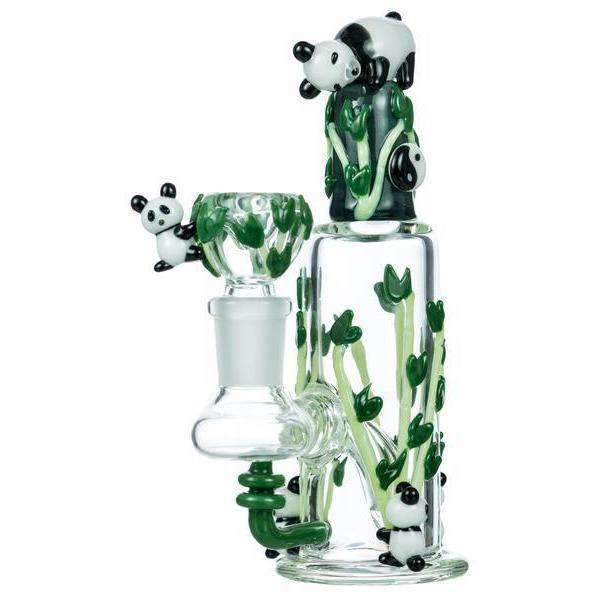 Empire Glassworks Panda Family Mini Bong | The710Source.com