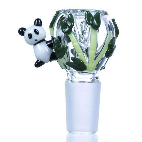 Empire Glassworks Panda Themed Glass Bowl | The710Source.com
