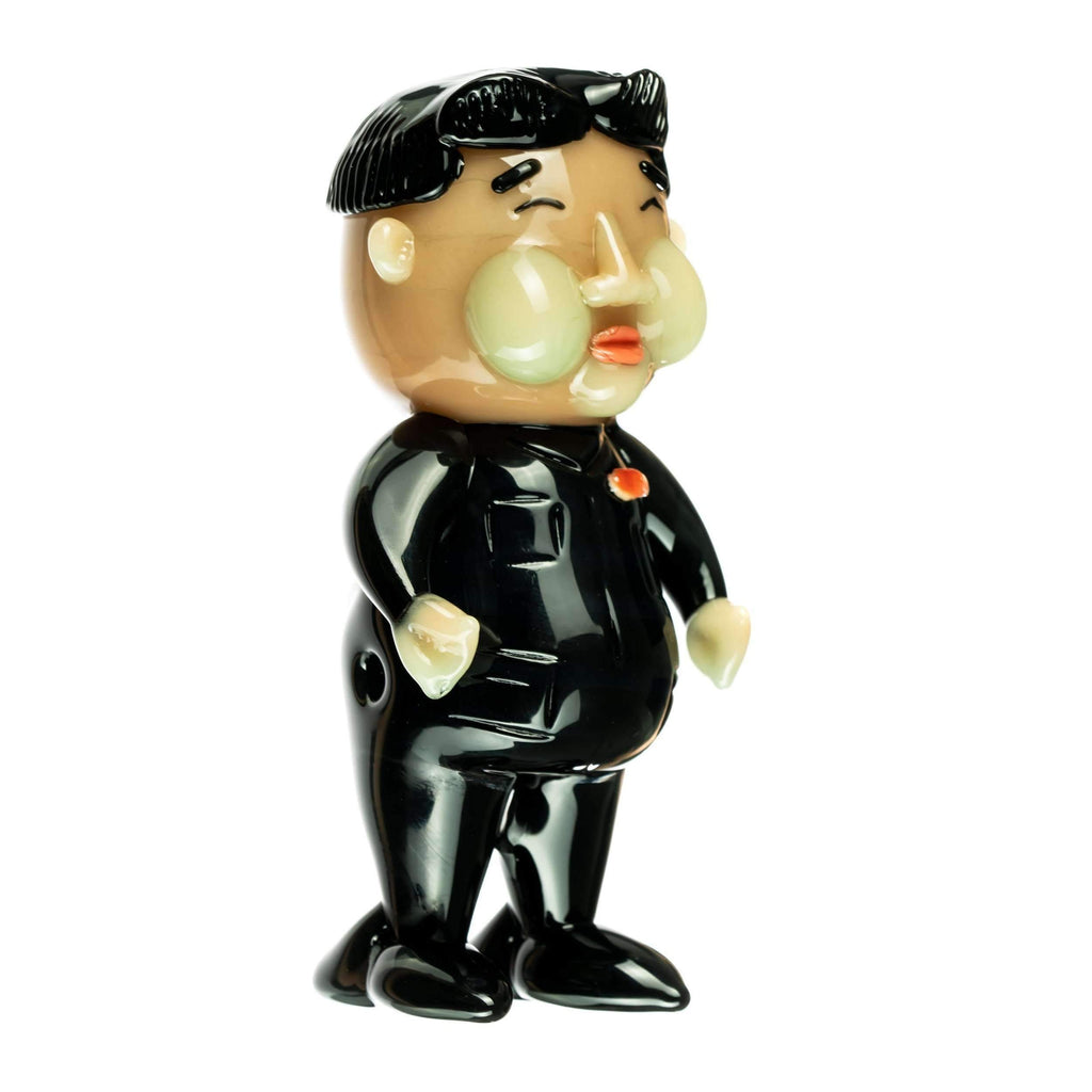 "Empire Glassworks ""Rocket Man"" Kim Jong Un Hand Pipe 