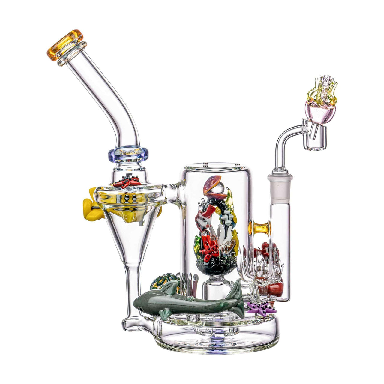 Empire Glassworks Self-Illuminating Aquatic Themed Rig | The710Source.com